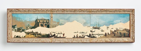 Grand Canal, 5x28in, 2009